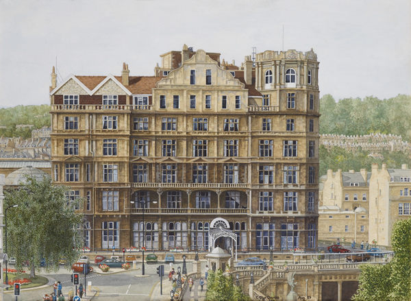 The Empire Hotel from North Parade